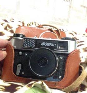 Фотоаппарат Фед 5с в чехле