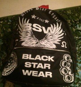 Лимитированный рюкзак Black Star Wear