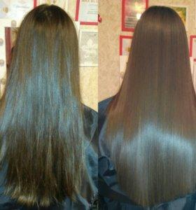 Делаю волосы здоровыми и красивыми 👩