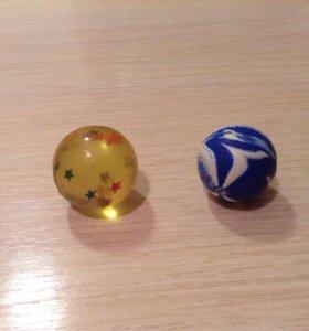 Мячики-попрыгунчики 2 шт