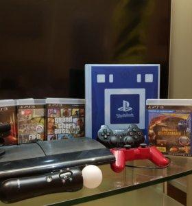 Игровая приставка Playstation 3(Super slim)