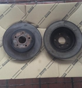 Передние тормозные диски 2шт. Lexus RX 300/330/350