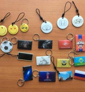 Домофонные ключи с оригинальным дизайном