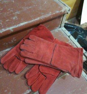 Краги рукавицы сварщика