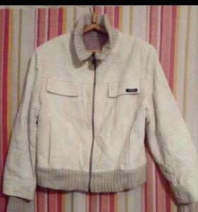 Куртка вельветовая женская