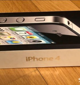 Apple iPhone 4 black (8GB)
