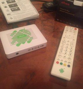 Smart tv box умный медиацентр