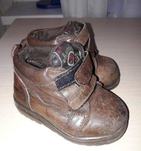 Ботинки-осень Италия