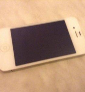 Айфон 4 вид почти нового телефона торг обмен