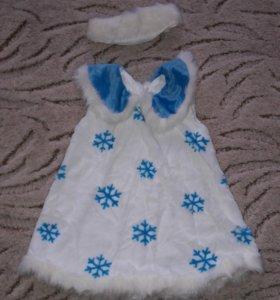 Новый новогодний костюм Снежинка