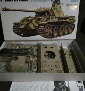Модель танка Пантера
