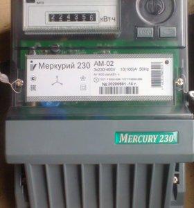 Электросчетчик меркурий 3-х фазный
