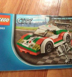 лего сити гоночный автомобиль LEGO CITY 60053