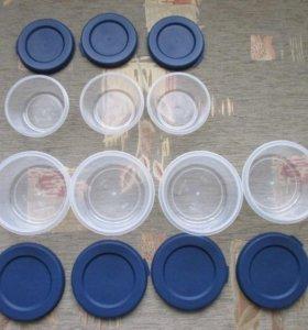 7 новых пищевых контейнеров с крышками