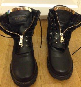 Ботинки balmain зимние
