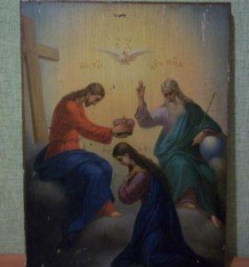 Икона Коронование Богородицы