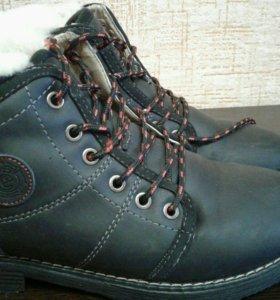 Зимние ботинки б/у