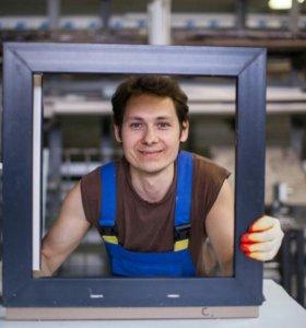 Окна ПВХ с двухкамерным стеклопакетом