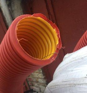 Труба гибкая двустенная для каб.канализации