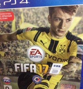 ФИФА 2017 на ps4 обмен на диск ps4