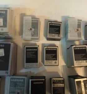 аккумуляторы (батареи) Samsung для телефонов.