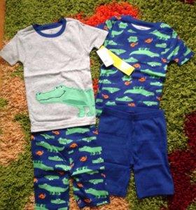 Новый комплект пижам фирмы Carter's на 5 лет