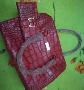 Набор сумка+кошелек