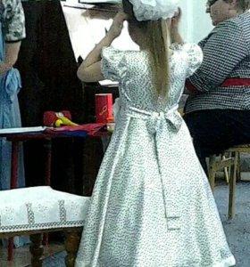 Платье на девочку рост 120