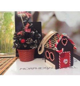 Сказочный домик ручной работы (ёлочная игрушка)