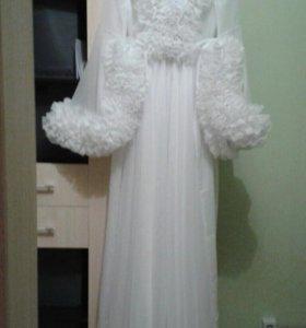 Пенюар для свадебной фотосессии