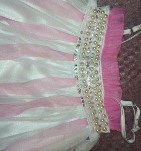 Праздничное пышное платье