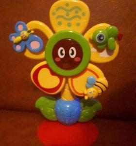 Развивающая игрушка HappyBaby «Fun Flower» музыка