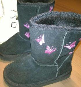 зимняя обувь на девочку