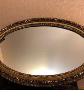 Зеркало огромное,тяжелое