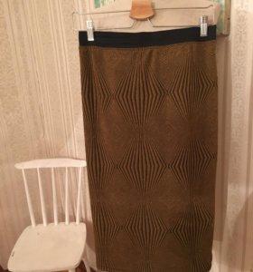 Новая юбка с люрексом Monki