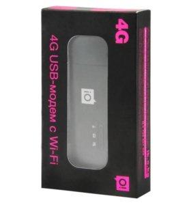 USB 3G 4G LTE Модем-роутер Huawei E8372 c WiFi