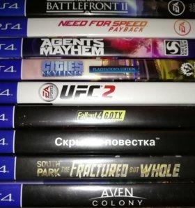 Nfs payback, battlefront 2, fallout 4 got, обмен