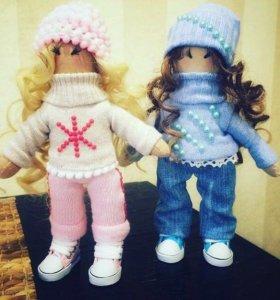 Интерьерные куклы + подарочный пакет