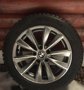 Диски BMW+зимняя резина Michelin