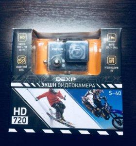 Экшн Камера Dexp s-40