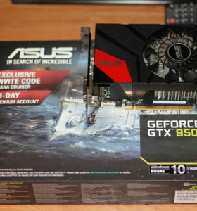 Asus Geforce GTX 950 2gb