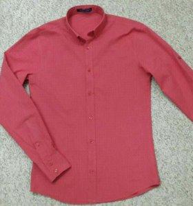 Рубашка коралловая