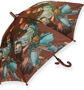 Продам новый складной детский зонт « Пират»