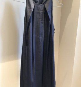 Шелковое платье Mango новое