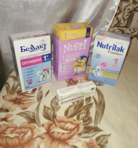Детское питание и крем для кормящей мамы