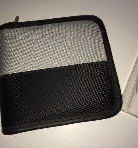Портмоне-сумка для CD дисков