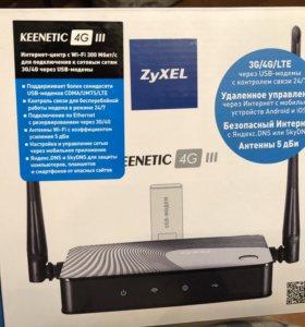 Wi-fi роутер Zyxel Keenetic 4g lll