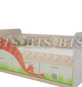 """Детская кроватка Минима """"Сказка"""""""