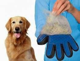 Чудо перчатка чесалка для животных