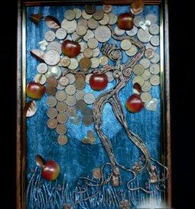Картина 22×32Денежное дерево
